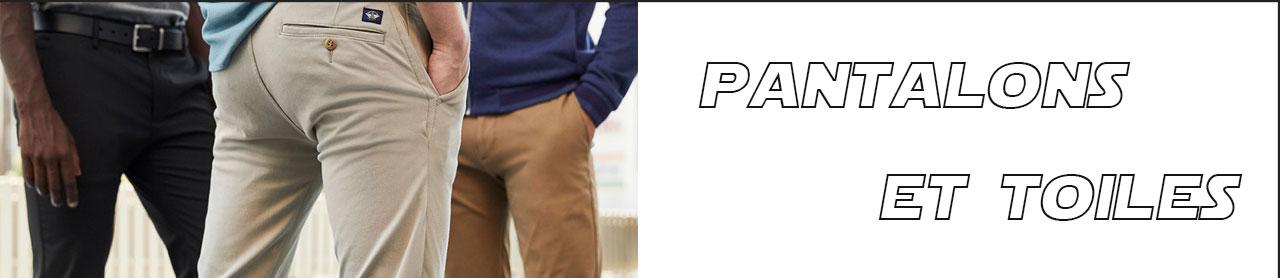 Pantalon toile hiver