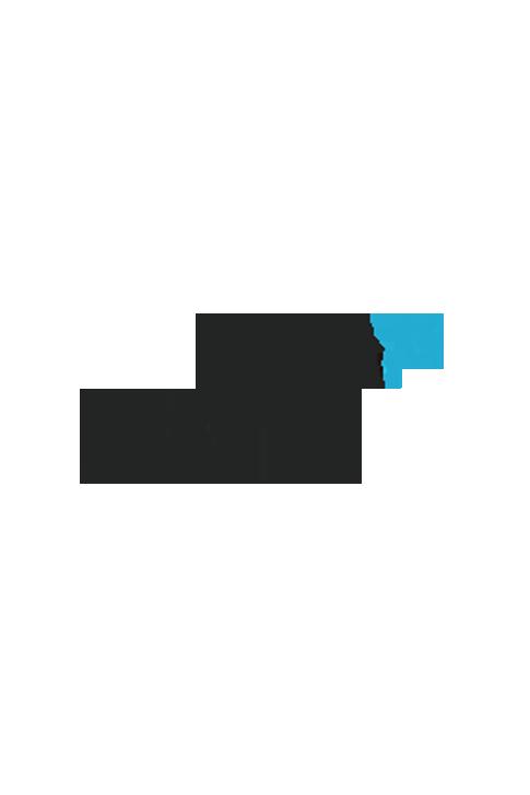 Chaussettes BROUSSAUD REG (pack X2) Noir logo gris