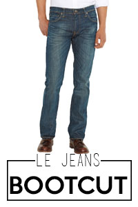 Jeans bootcut homme