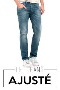 Jeans ajusté homme