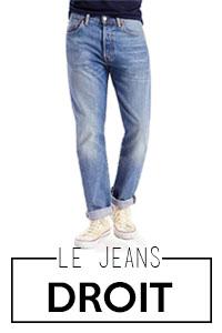 Jeans droit homme