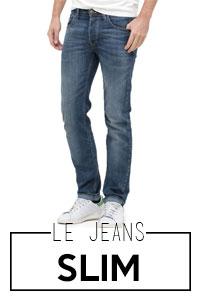 Jeans slim homme