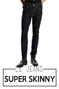 Jeans super-skinny homme