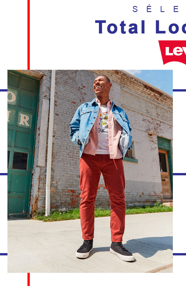 Look Levi's homme