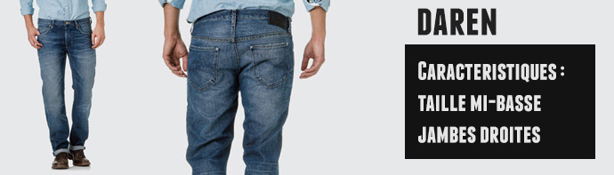 jeans lee daren homme