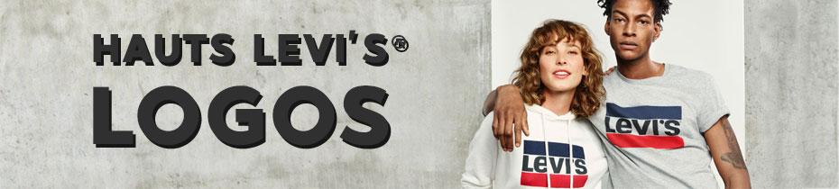 Hauts Levi's à logos