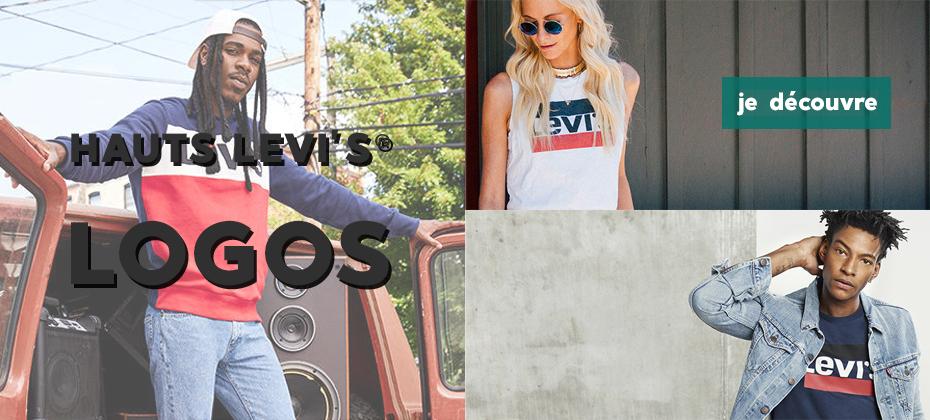 Hauts à logos Levi's