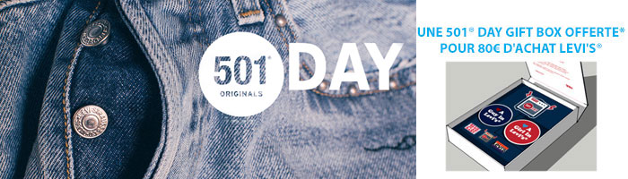 Levis 501 Day