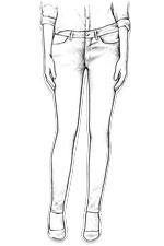 Jeans Levis femme skinny